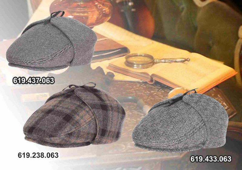 Stylish newboy/watson's caps for stylish customers!